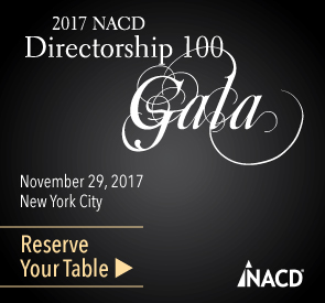 2016 NACD Directorship 100 Gala | Submit Your Nomination