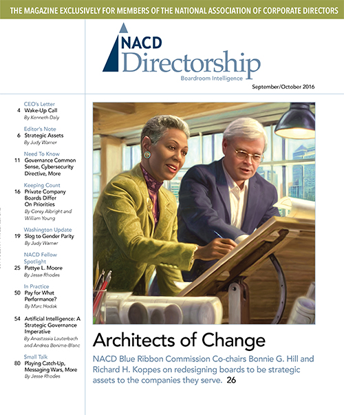 Directorship Magazine September/October 2016 Issue