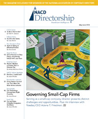 Directorship Magazine May/June 2018 Issue