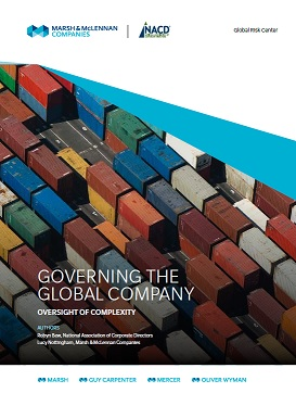 Governing the Global Company Cover