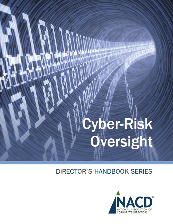 NACD Director's Handbook on Cyber-Risk Oversight Cover