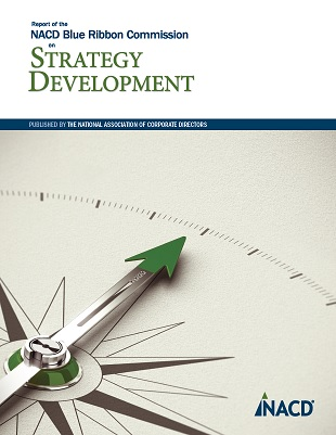 NACD Blue Ribbon Commission Report on Strategy Development Cover