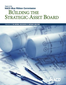 NACD Blue Ribbon Commission Report on Building the Strategic-Asset Board Cover