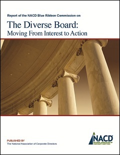 BRC The Diverse Board: Moving From Interest to Action Cover