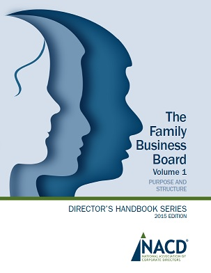 The Family Business Board, Volume 1 Cover