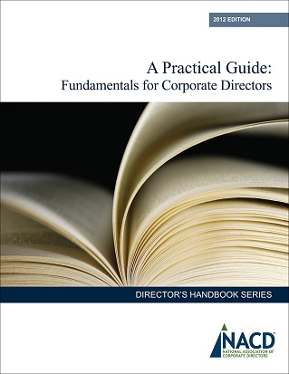 A Practical Guide: Fundamentals for Corporate Directors Cover