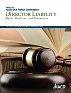 NACD Report on Director Liability