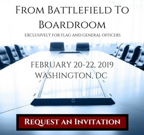 Click Here to Request an Invitation to From Battlefield to Boardroom