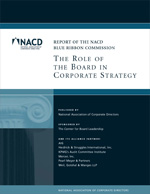 BRC The Role of the Board in Corporate Strategy Cover