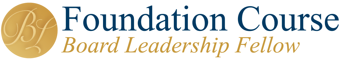 NACD Board leadership Fellowship